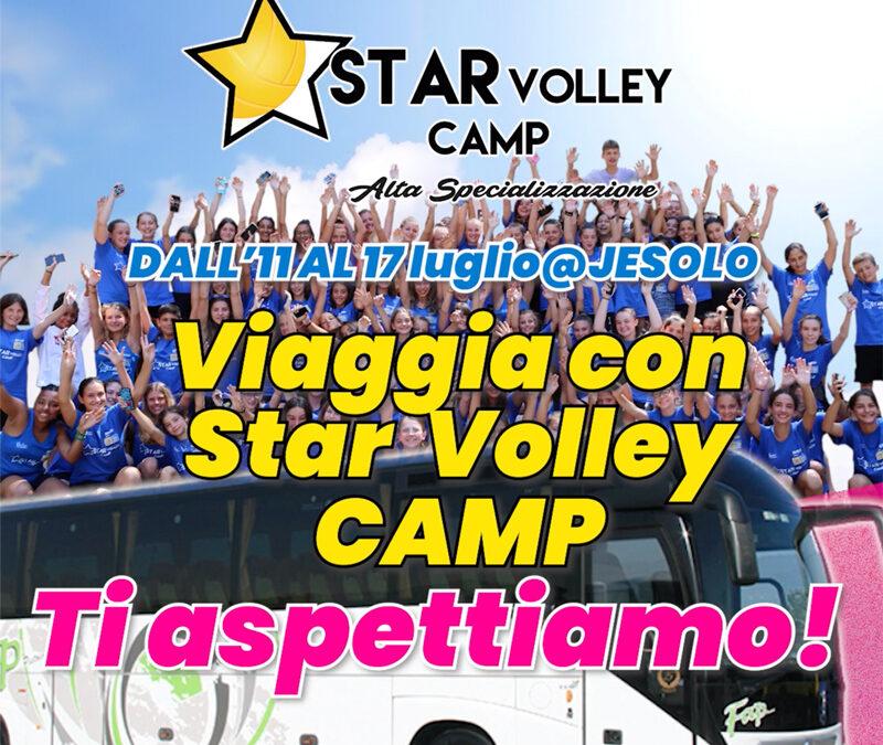 Viaggia con Star Volley Camp